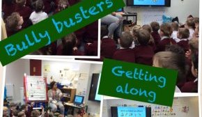 Bullybusters team visits Christ the King Catholic Primary School - Nov 16